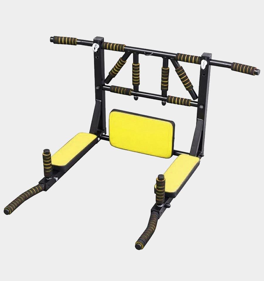 Турник 3в1 желтый + PushUpStand